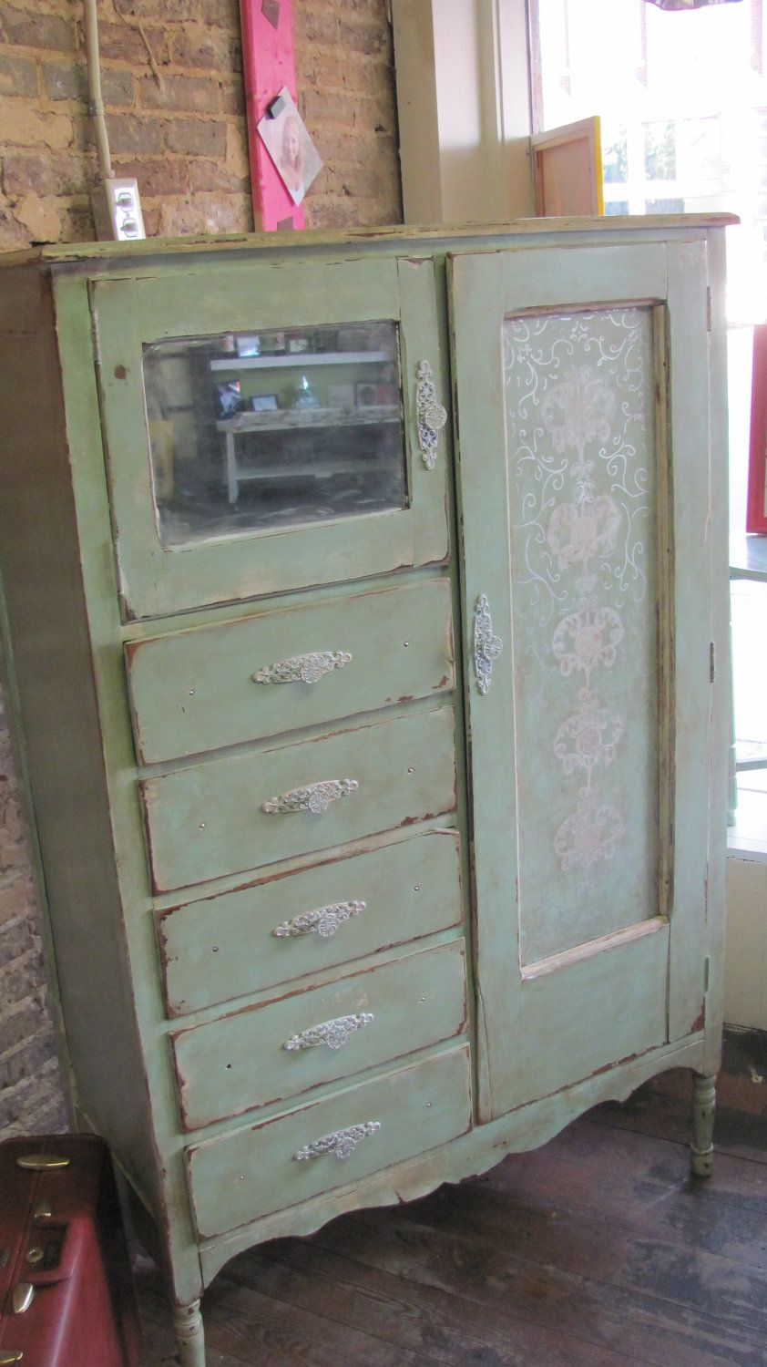 1930s Wardrobes: Love This, And The Way It Was Repurposed! Repurposed