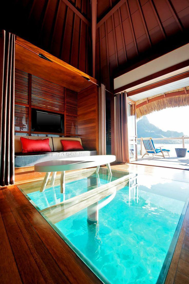 Borabora Hotel Room Water Bungalow Bora Bora Honeymoon