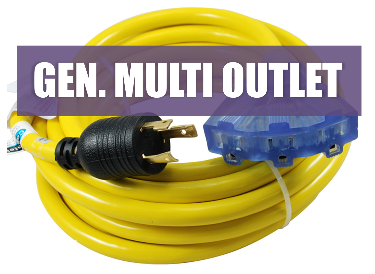 Generator Multi Outlet Cords Are Great For Taking All Generator Configurations And Providing Multiple 110v Outlets For 15a Use With Images Multi Outlet Generation