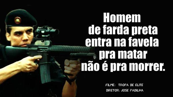 Capitão Nascimento Frases Policiais Pinterest