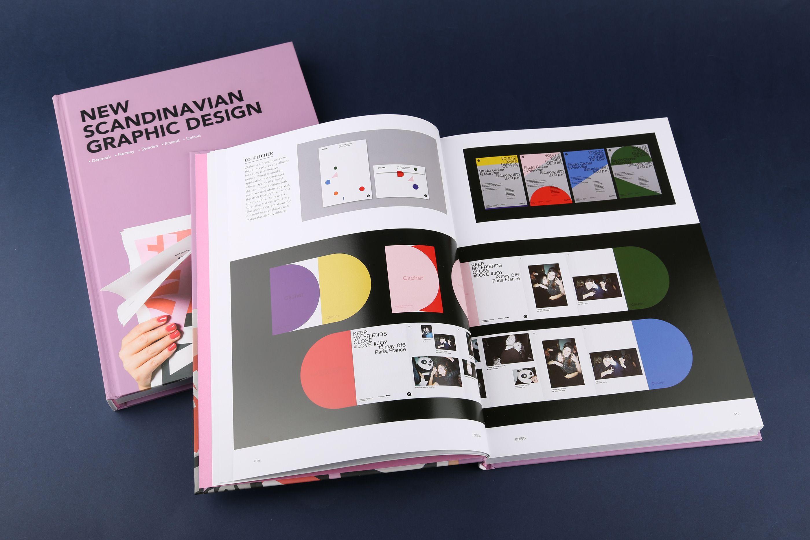 New Scandinavian Graphic Design On Behance Graphic Design Book Design Design