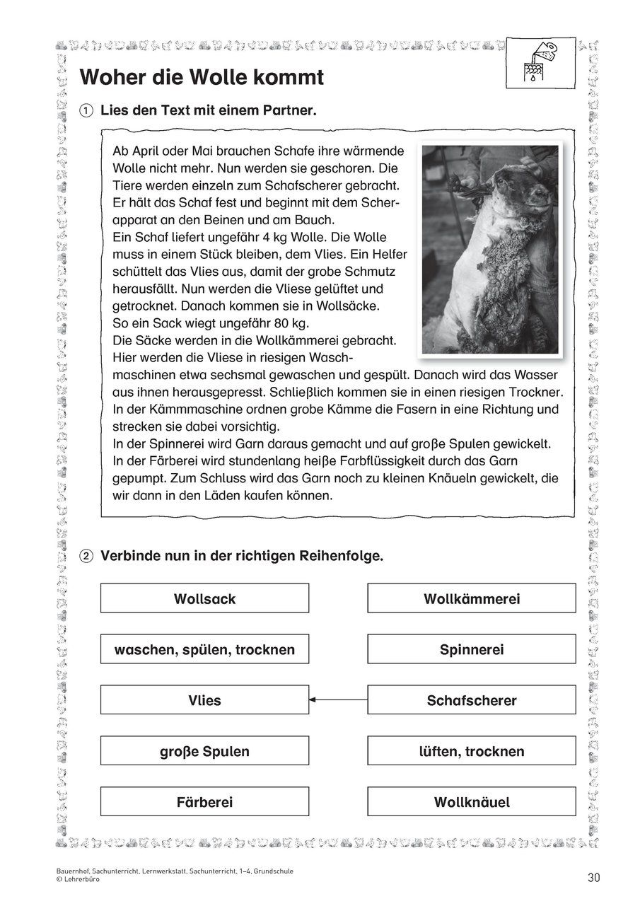 Natur und Leben · Arbeitsblätter · Grundschule · Lehrerbüro | Schule ...