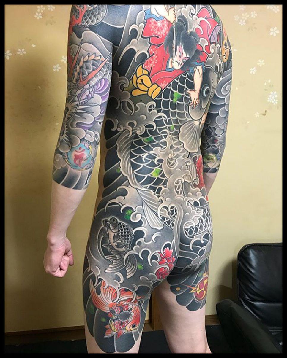 Love classic tattoo by makoto_horimatsu 👹