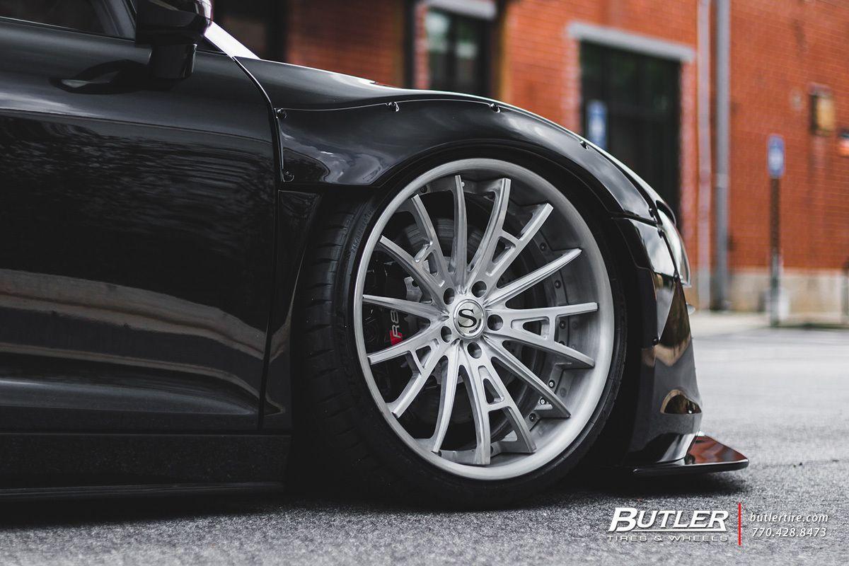 Liberty Walk Audi R8 Spyder With 20in Savini Sv75 Wheels Moshnye Avtomobili Avtomobili
