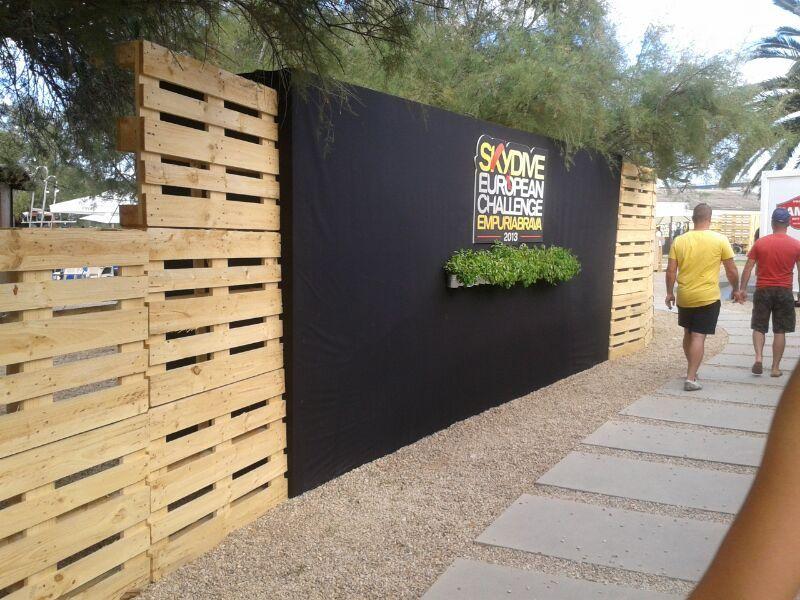 paredes con pallets ideas para desarrollar pinterest