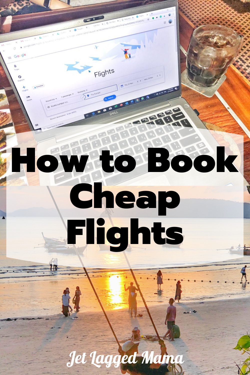 Let's talk about how to find cheap flights anywhere and book it! So that you can score killer deals on flights. There are some tricks to scoring great deals and they are not as difficult as you might think. With a little flexibility you might just book that dream trip or plan a 2nd honeymoon. #cheapflights #budgettravel #cheapairfare #family vacation #jetsetter #skymiles