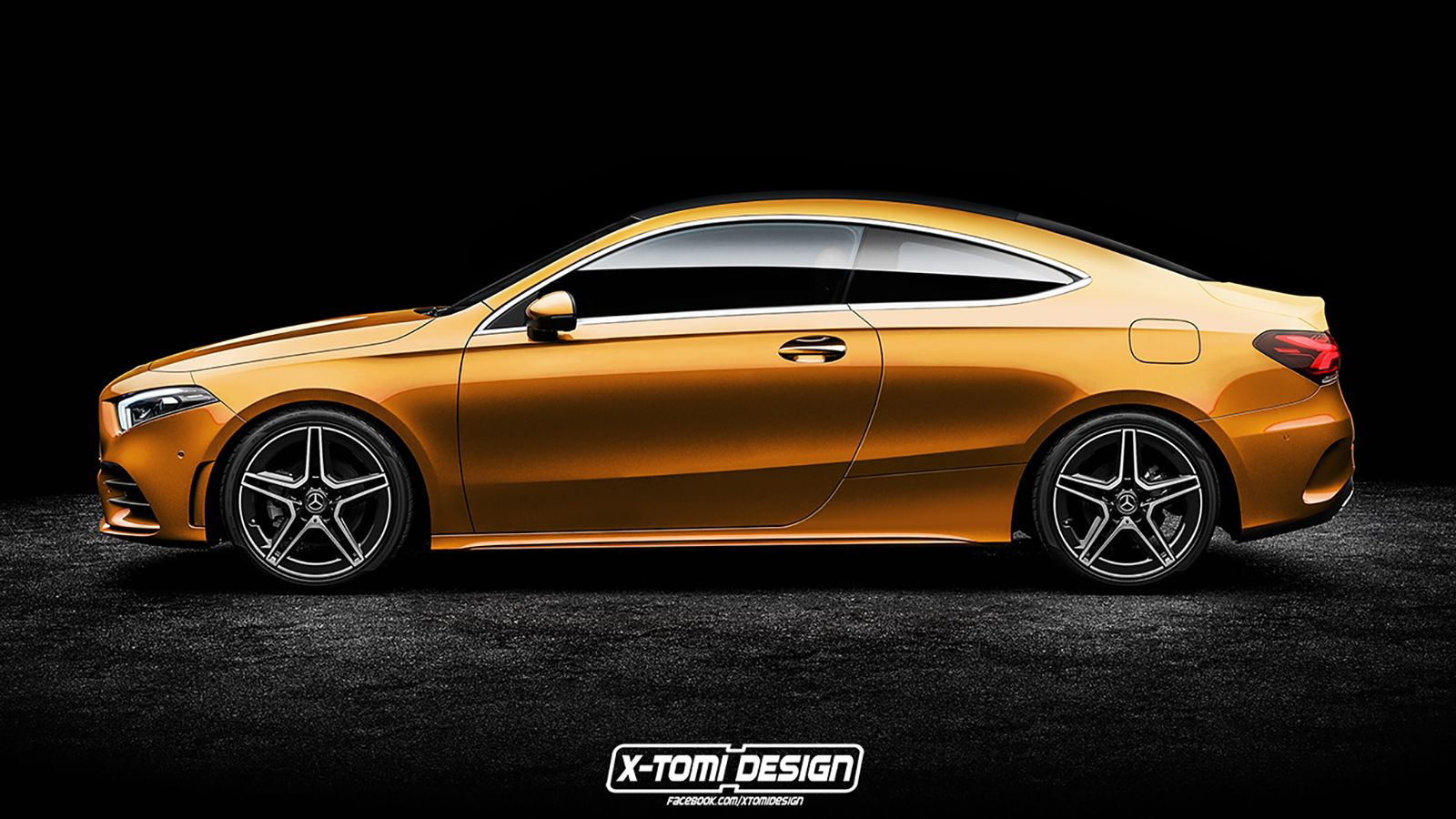 X Tomi S Rendering Of The Mercedes A Class Coupe Has Us Salivating With Desire Top Speed Mercedes A Class Benz A Class Mercedes Benz