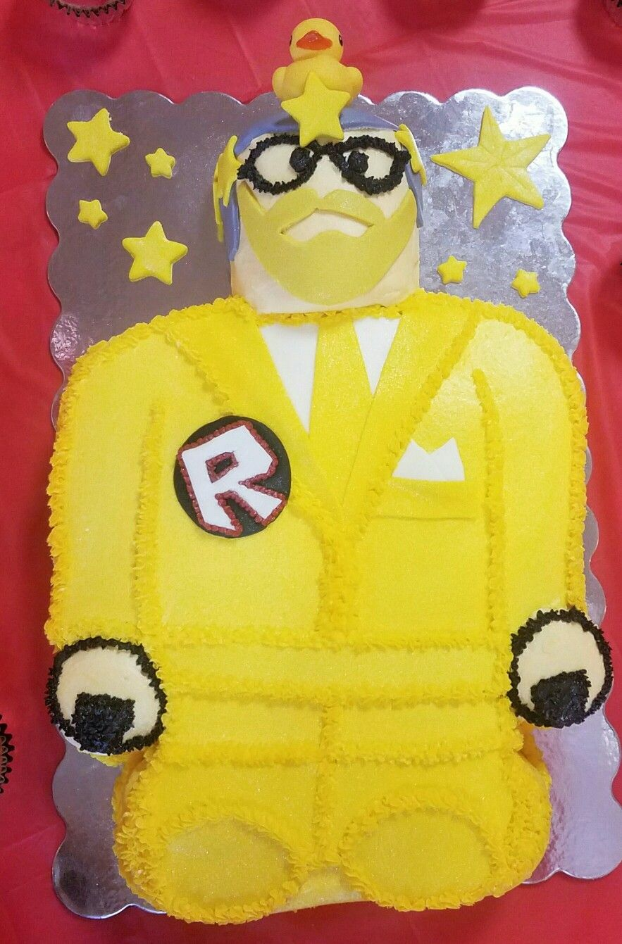 Dantdm Cake Roblox Made By Neenah Nights Party Ideas In