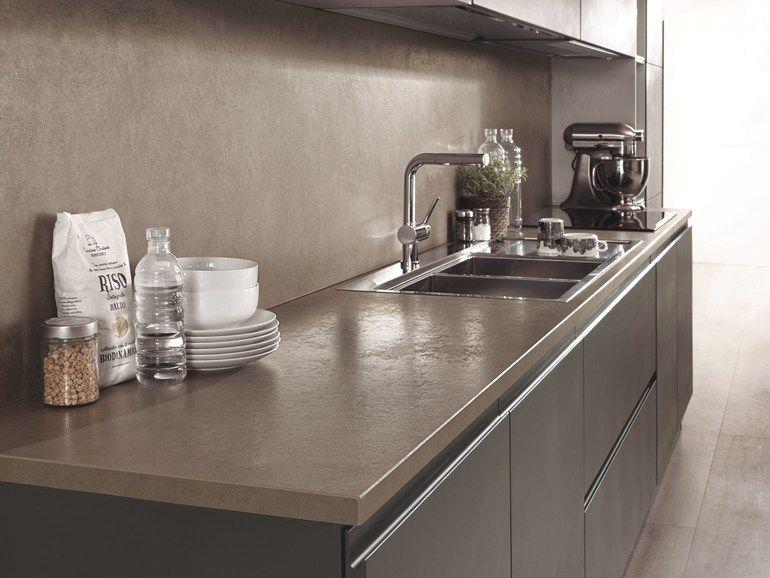 Küchenarbeitsplatte aus Keramik LAMINAM ON TOP by Laminam - küchenarbeitsplatte online bestellen