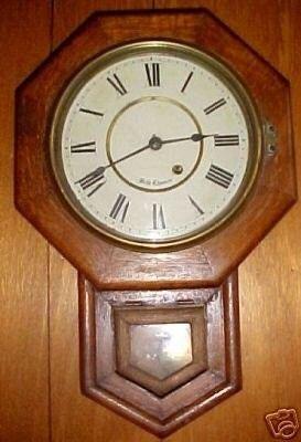 Antique Seth Thomas Schoolhouse Wall Clock 39540771 seth