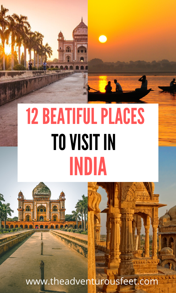 12 Best Places To Visit In North India The Adventurous Feet Cool Places To Visit Places To Visit India Travel