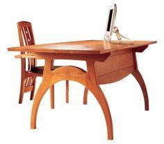 Green Design Furniture Crescent Desk (Portland, ME)