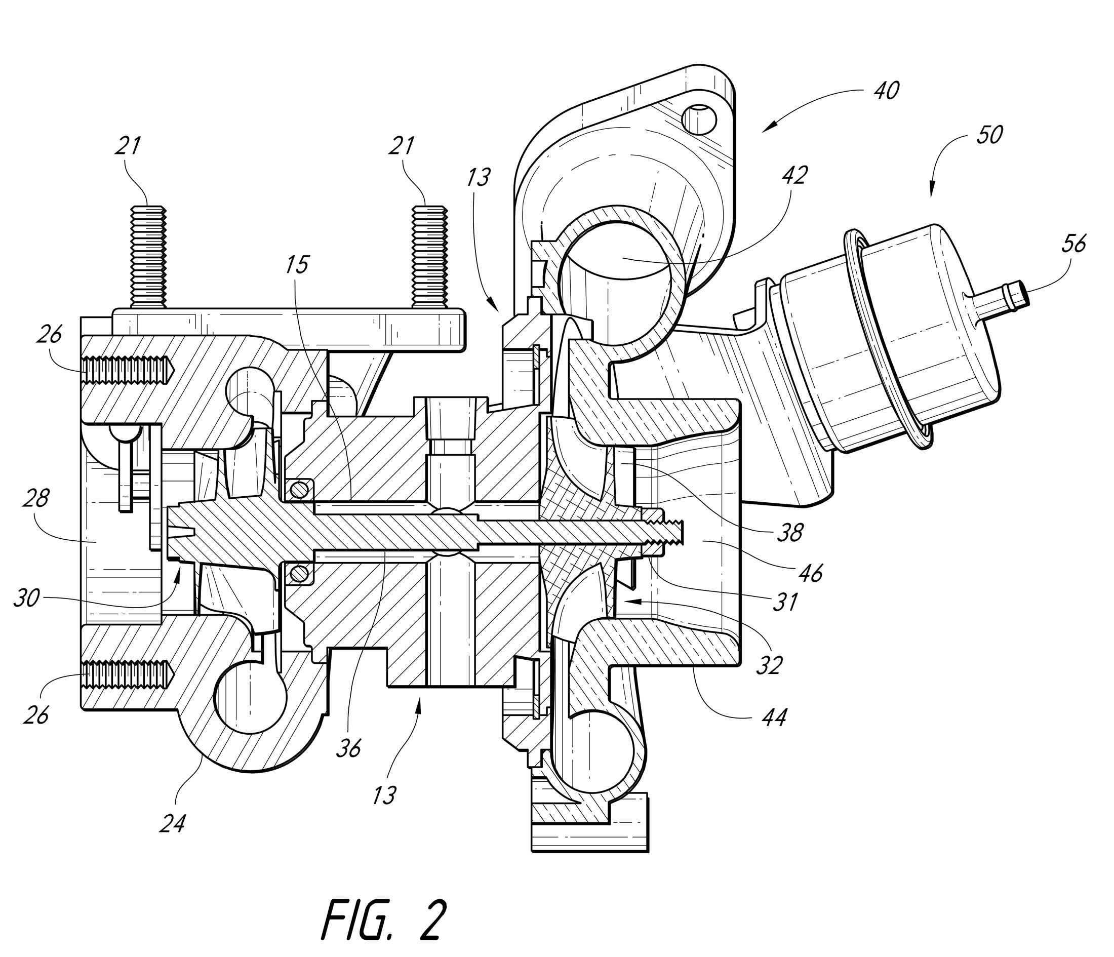 Turbocharger Drawing Ql6n51ew