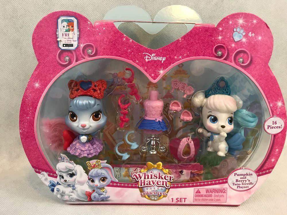 Disney Whisker Haven Tales Pumpkin And Berry's Palace Pets