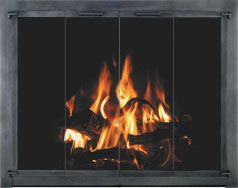 Stoll Traditional Iron Glass Fireplace Door With Images