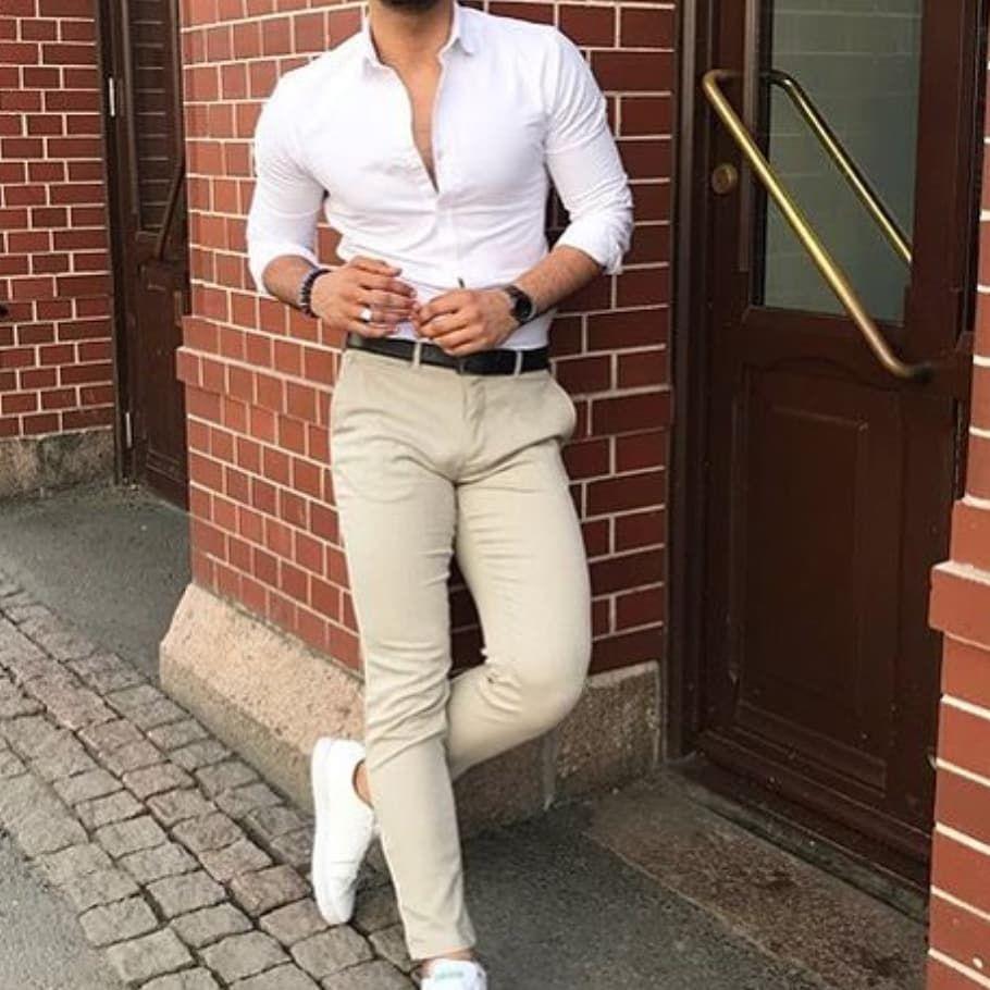 Camisa Slim Fit Pantalon Chupin Camisas Pantalones Trajes
