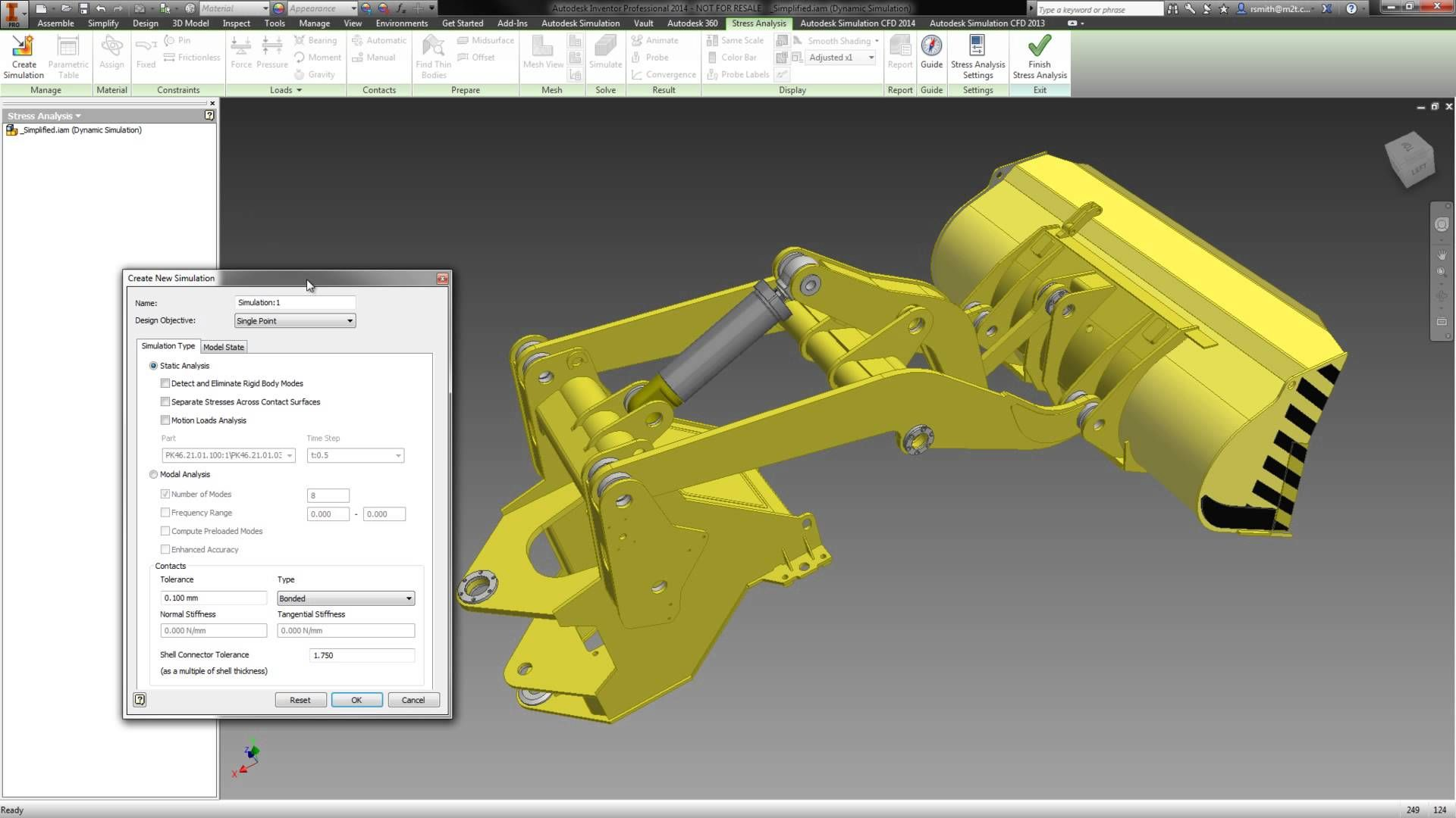 Autodesk Inventor Simulation Workflow: Dynamic Simulation to
