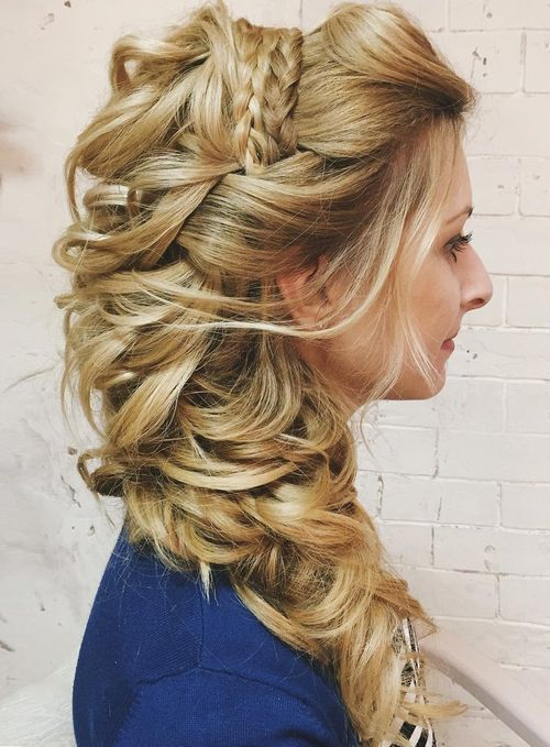 40 Gorgeous Wedding Hairstyles For Long Hair Long Hair Wedding Styles Haircuts For Long Hair Wedding Hairstyles