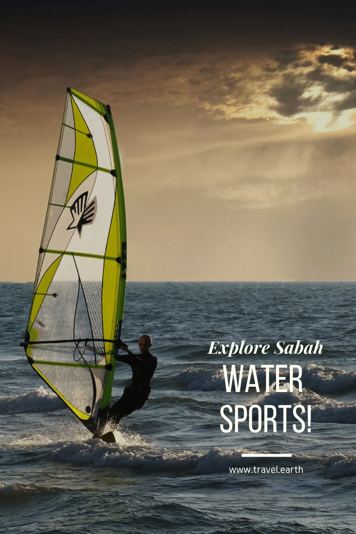Sabah Beaches And Islands: A Water Sports Lovers Delight