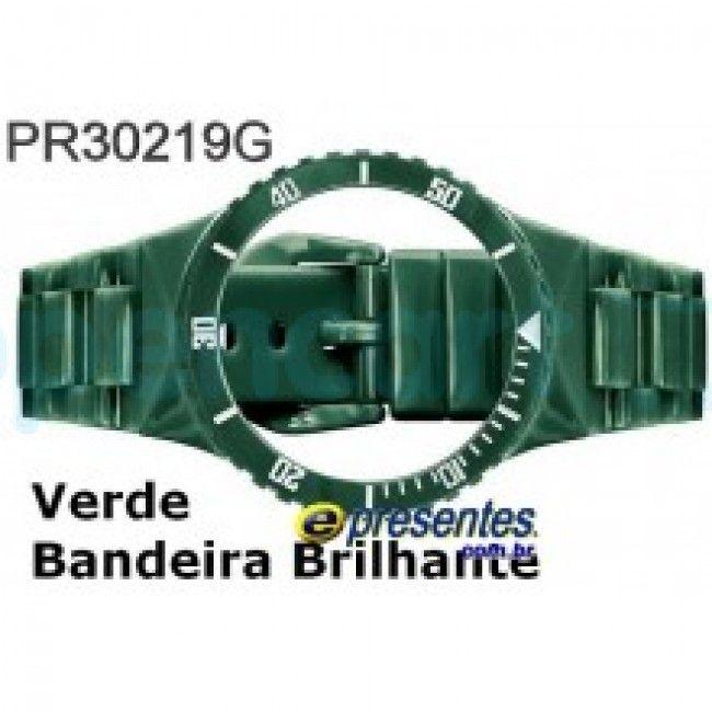Pulseira Avulsa Champion VERDE BANDEIRA BRILHANTE PR30219G