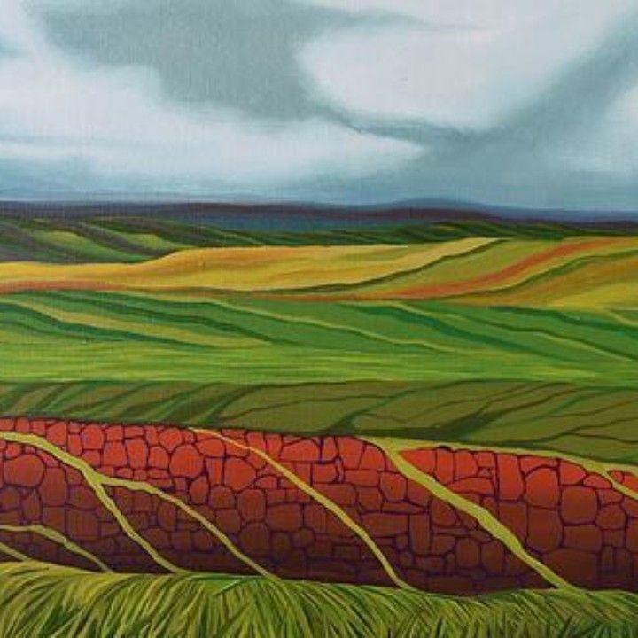 The Field #3 From the Umbilicus from Rock Paper Scissors for $350.00