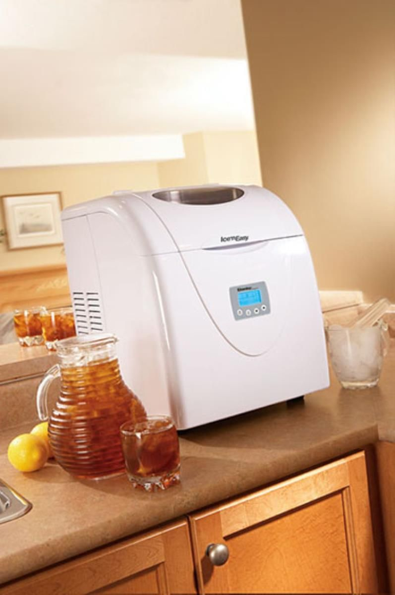 how to clean ice maker line