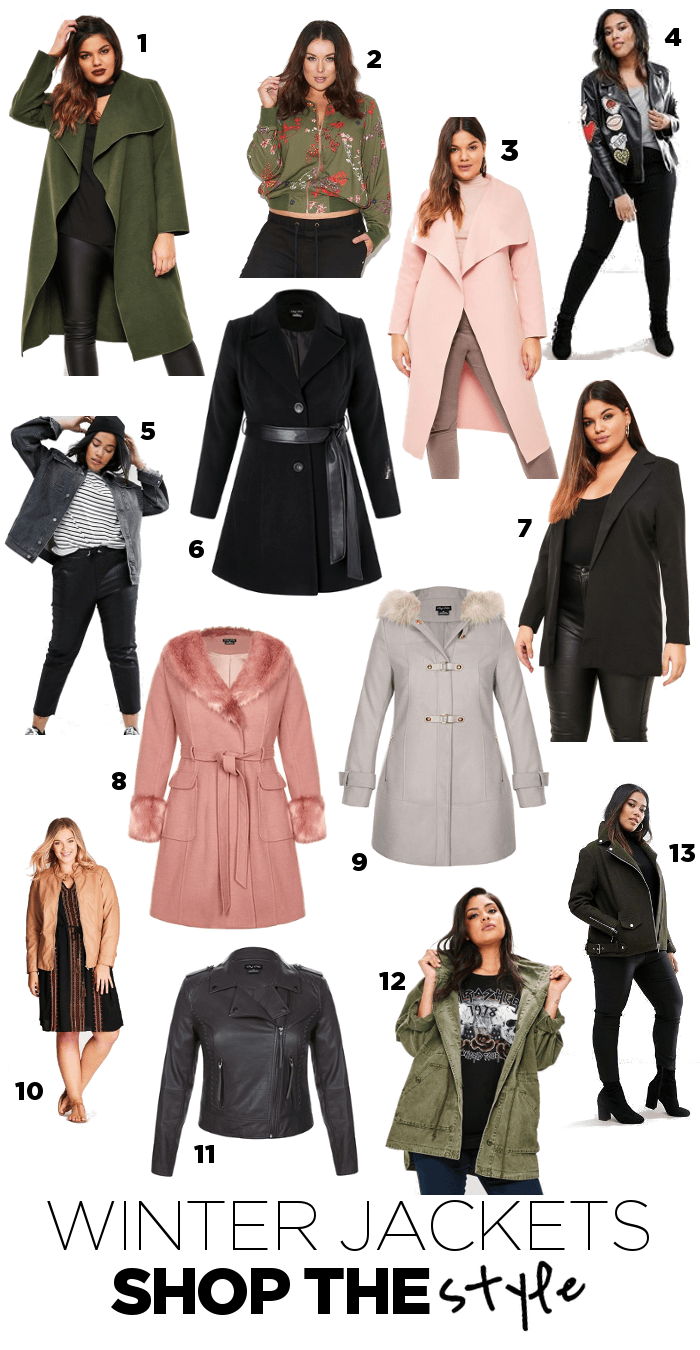 bfbb322fd00 Plus Size Winter Jackets - Suger Coat It