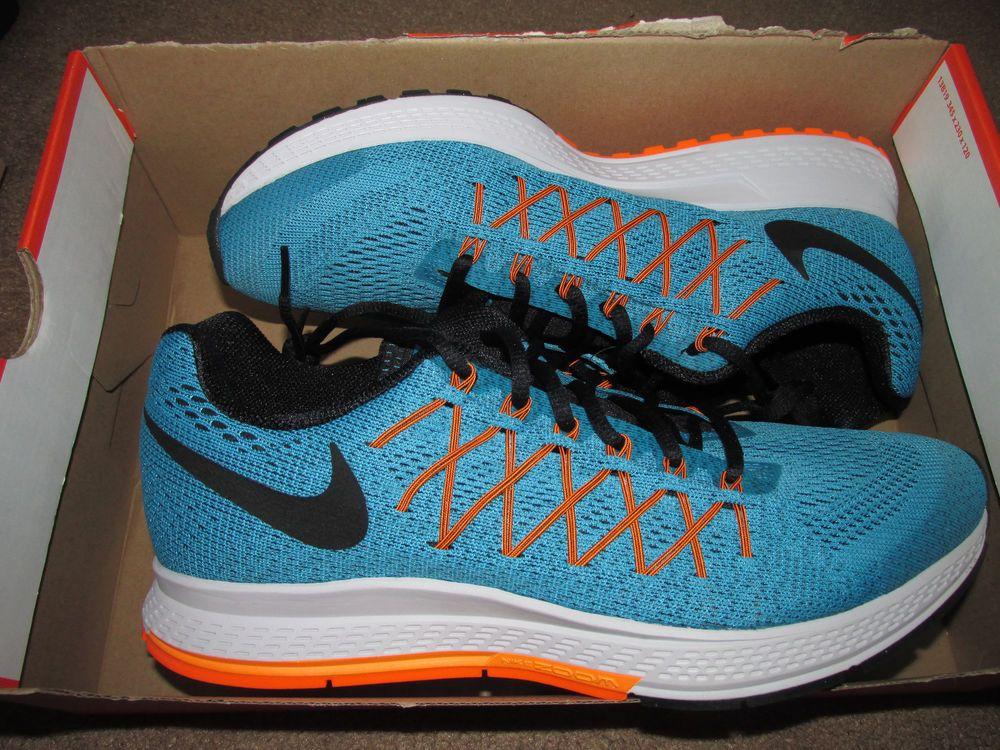 low priced a47e4 8f5fc Nike Air Zoom Pegasus 32 Mens Running Shoes 10.5 4E Wide Blue Lagoon 749343  400  Nike  RunningCrossTraining