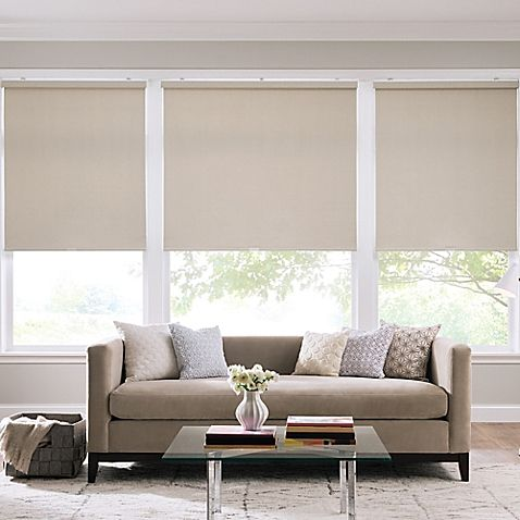The Real Simple Cordless Roller Shade Features A Thermal