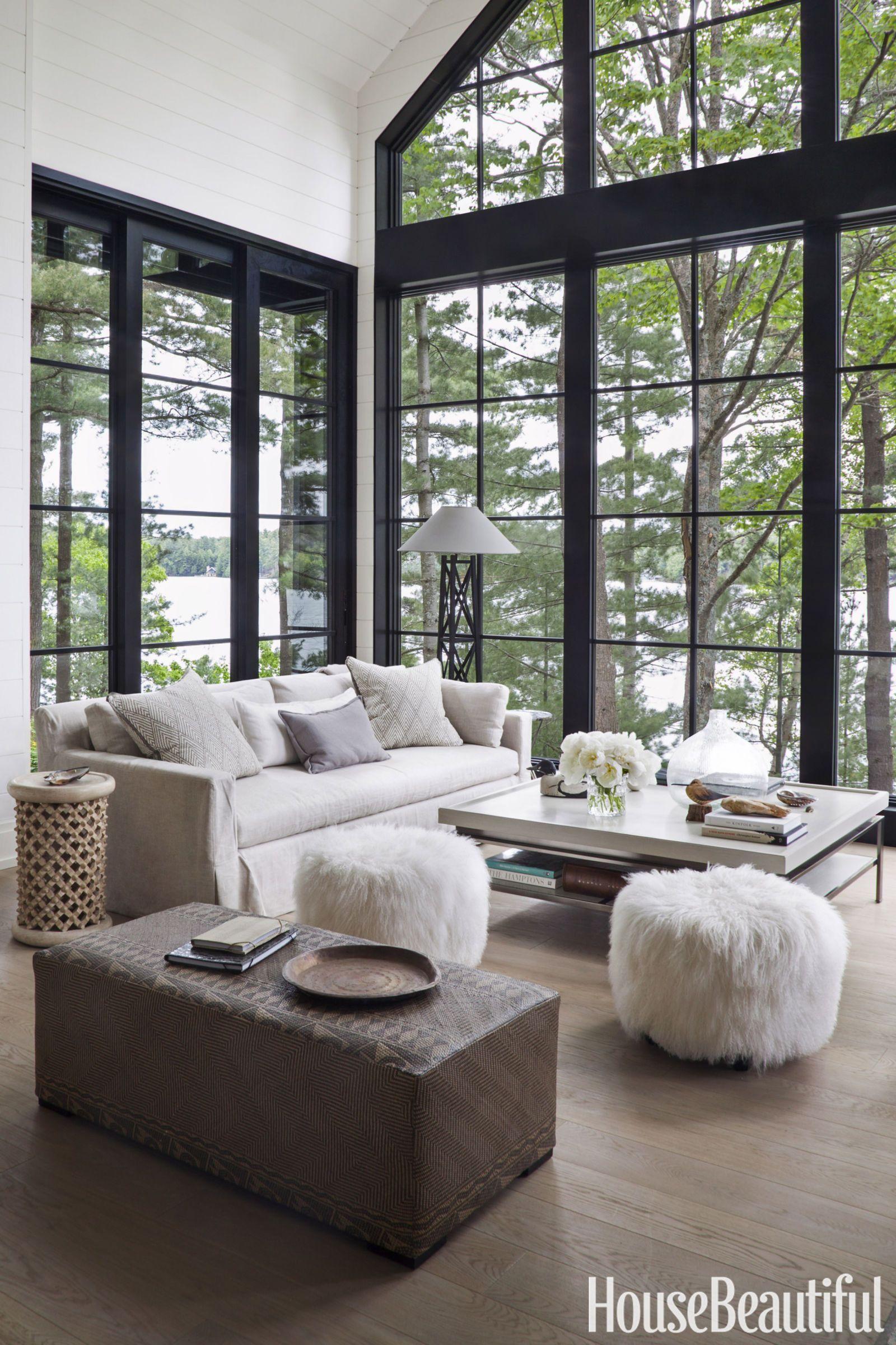 Etonnant Love The Big Open Widows   Living Room: Walls   HouseBeautiful.com