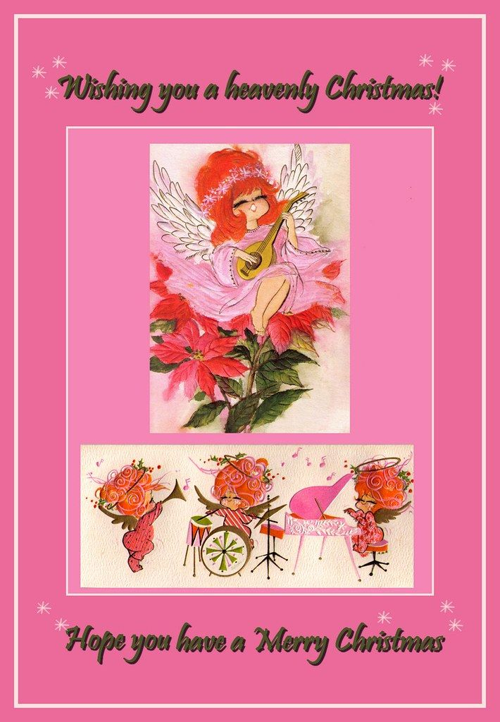 Pink Christmas Cards 1000+ views   The artist for the second…   Flickr