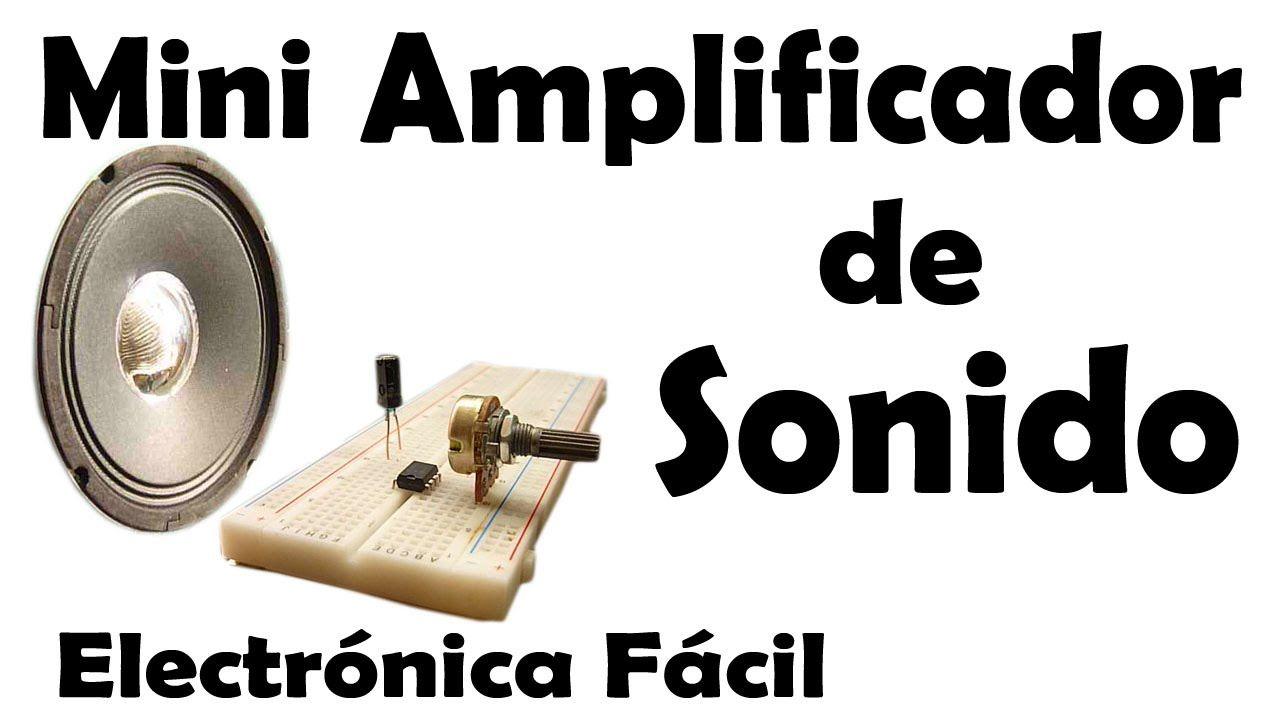 Mini Amplificador De Audio Casero Muy Facil De Hacer