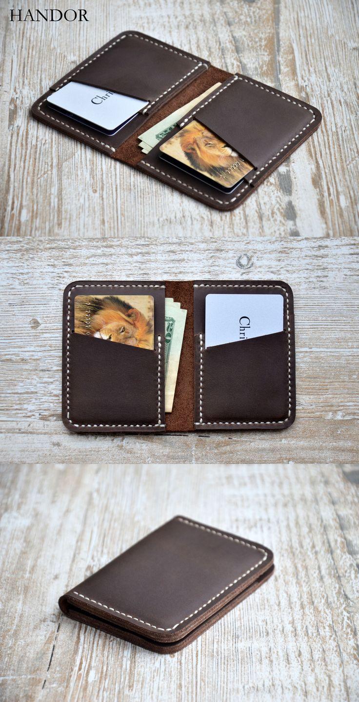 Brieftaschen für Herren – Front Pocket Design … - Herren Uhr #leatherwallets