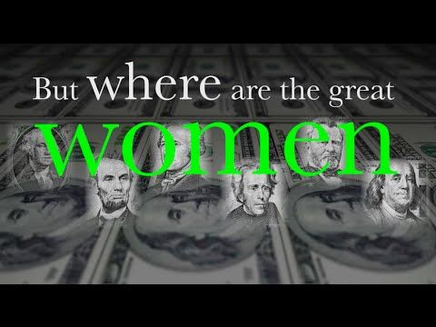 ;-) A Woman's Place Is On the Money