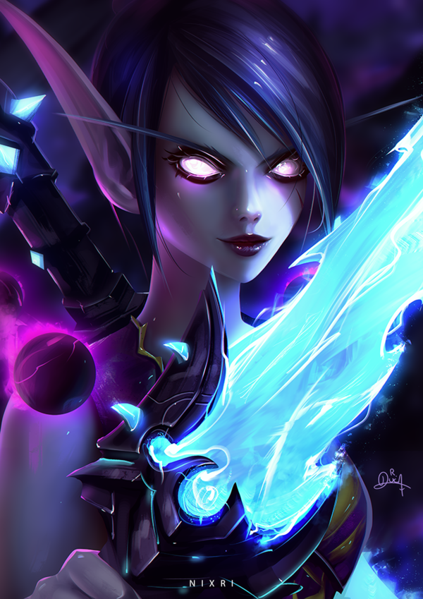 World Of Warcraft Void Elf This article concerns content exclusive to battle for azeroth. wallpaper for you