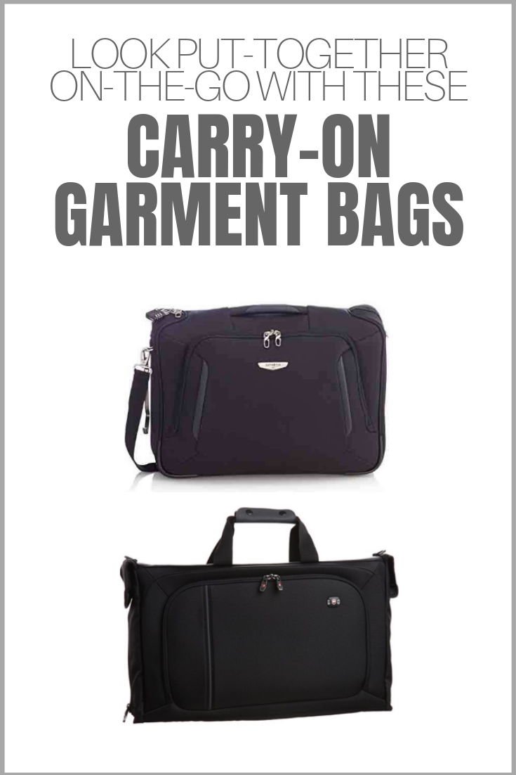 The Best Carry On Garment Bags For