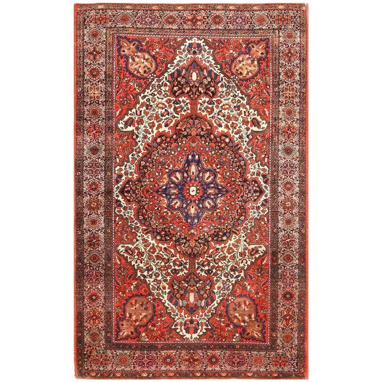 Antique Sarouk Farahan Persian Rug Persian Rug Rugs Colorful Rugs