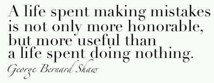 a life spent doing nothing..