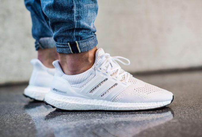 adidas boost mens white