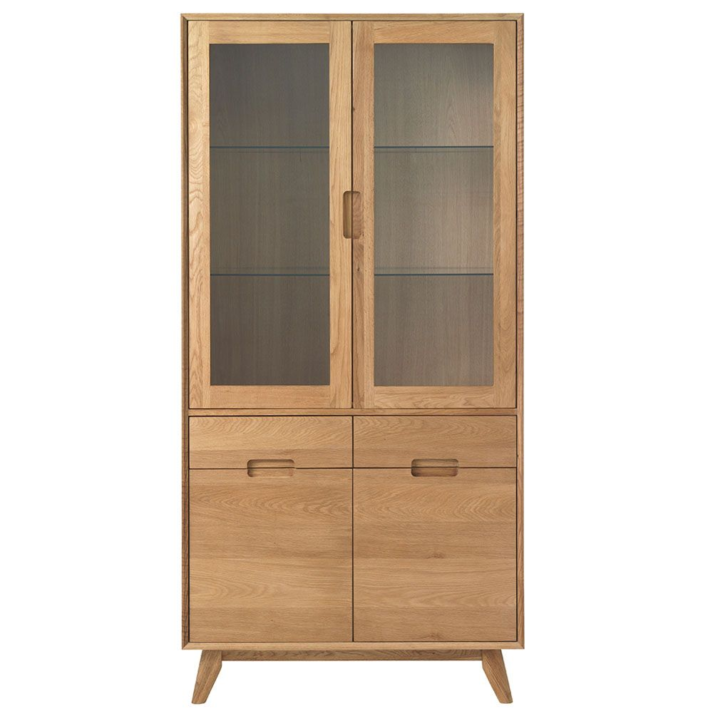 An Elegant Addition To Your Dining Room The Lund China Display Cabinet Offers Plenty Of