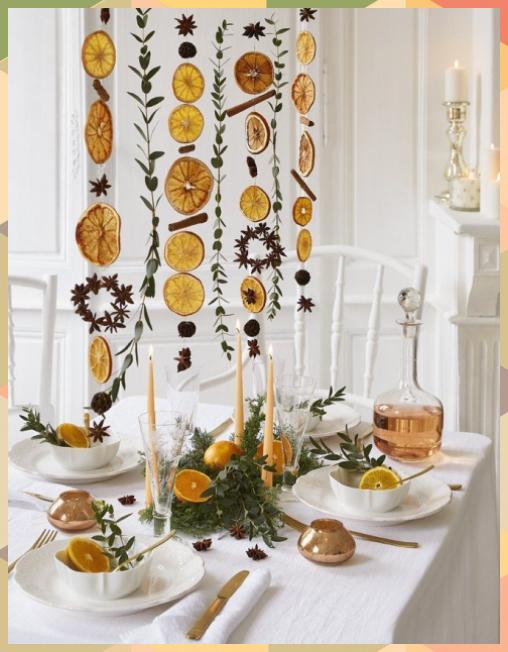 Make A Citrus Garland For The Holidays Christmas Ideas Bathroom Crafts Boho Crafts Button Craf In 2020 Fun Christmas Decorations Christmas Deco Christmas Holidays