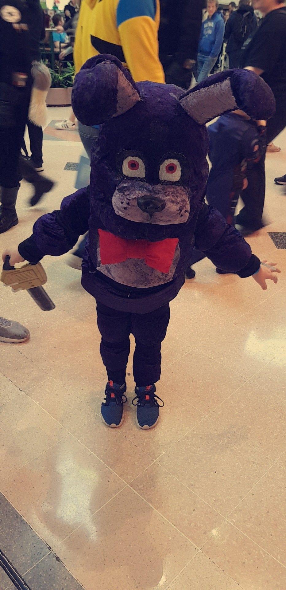 Child bonnie cosplay fnaf costume by _theleia instagram