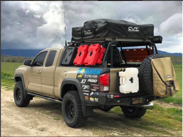 CBI 2nd/3rd Gen Overland Bed Rack truck