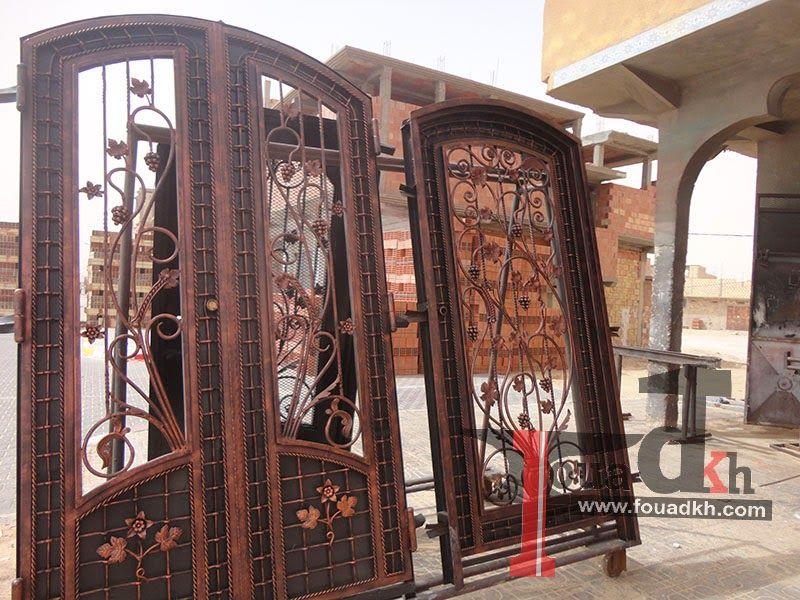 كتالوج لنماذج شبابيك حديد فن زخرفة Fer Forge Metal Screen Iron Windows Wrought Iron