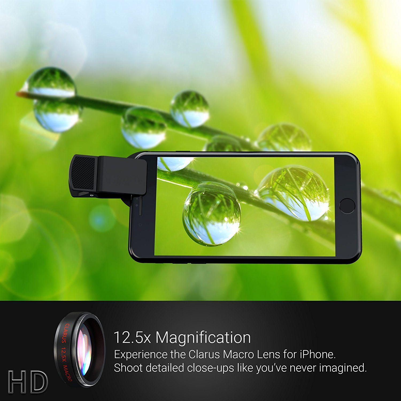 Amazon com : Xenvo iPhone Camera Lens Pro: Macro Lens Wide
