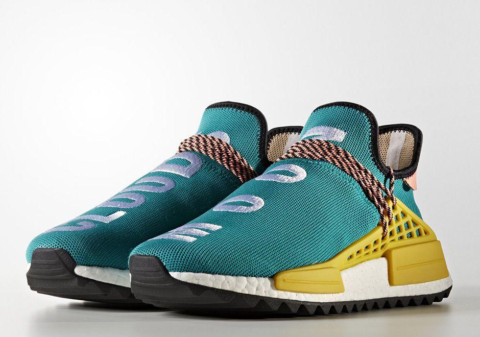 the best attitude 7ba32 7bb36 Pharrell adidas NMD Human Race Trail Release Info ...