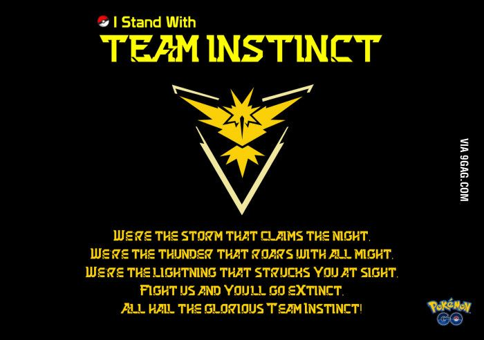 I Stand with Team Instinct (Collective Photo & Quotes ...