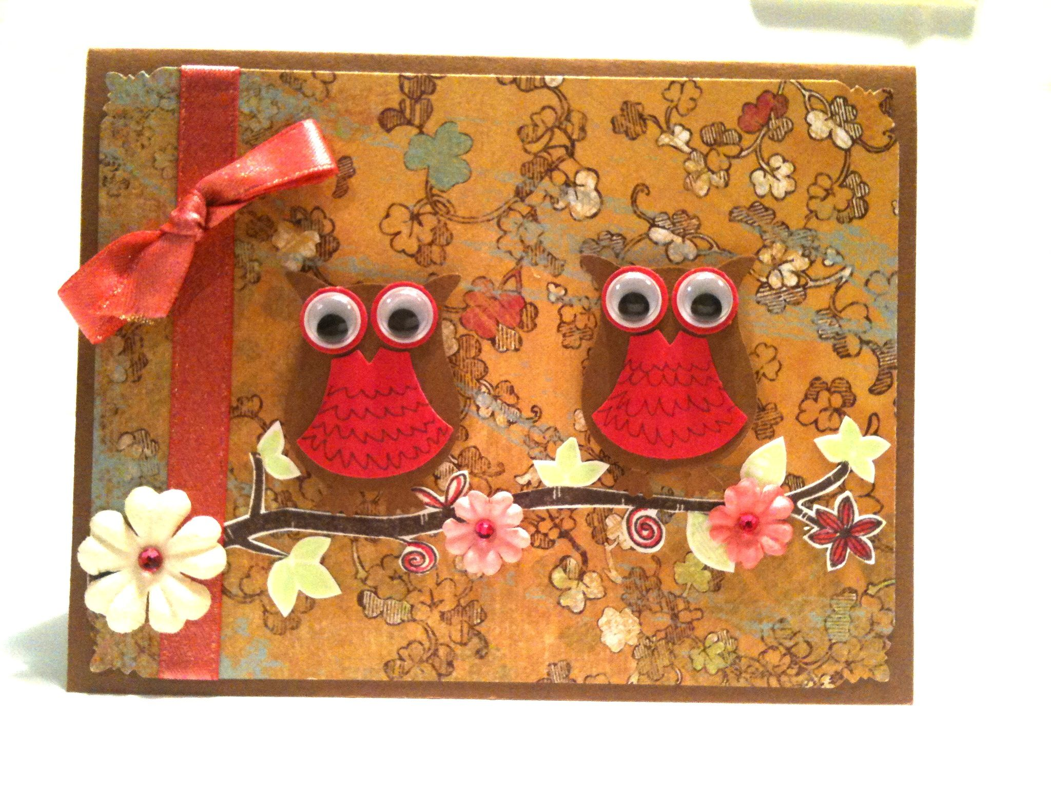 Image detail for -Scrap with Frenchie: Stampin'Up! Owl and Bird Punch, Owl all dress up ...