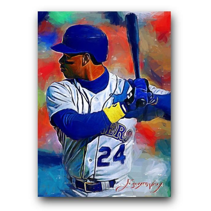 dbeeea9e2e Ken Griffey Jr #38 Sketch Card Limited 20/50 Edward Vela Signed  #SeattleMariners