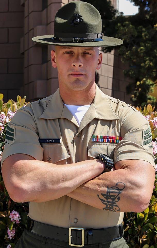 Gay military hunks